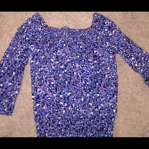 H&M cotton off the shoulder top - size 2 xs small
